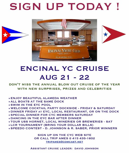 CYC Cruise to EYC