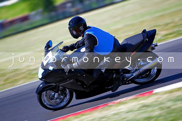#9 - Black Honda 1100
