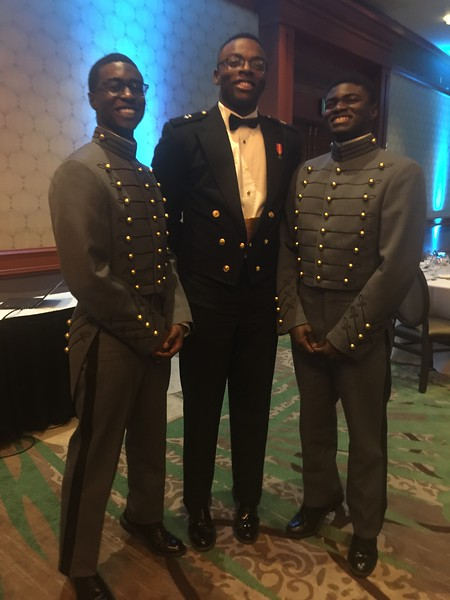 Simmons @ Military Ball
