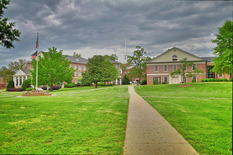 HDR images of the quad in spring 2011.