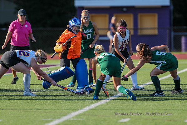 JV Field Hockey vs Langley 8/29/16