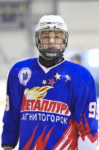 Металлург-1995 (Магнитогорск) - Салават Юлаев-1995 (Уфа) 8:3. 21 января 2012. Фотографии Алексея Макарова