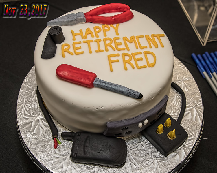 Fred Retires