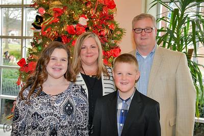 December 9, 2017 - Cottongim Family Holiday Photos