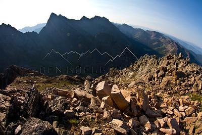 From the Summit of East Corner Peak, Gore Range, CO