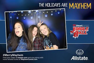 12.14.2016 - Allstate - Chicago iHeartRadio Jingle Ball
