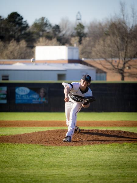 2016-03-18 Grassfield v Hickory Varsity Baseball