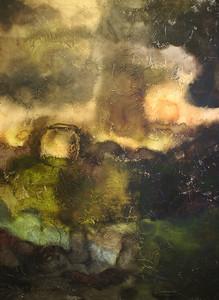 """""""Creation"""" acrylic on canvas 36"""" x 48"""""""