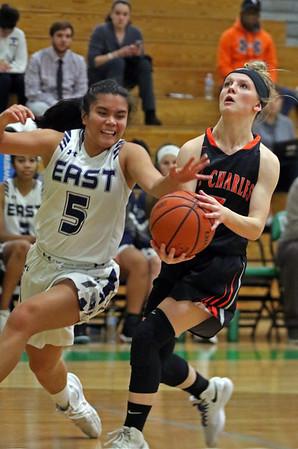 St. Charles East girls basketball