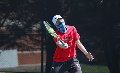 CUA Tennis vs Juniata; 3 Apr 21