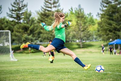 170422 - Los Gatos United Yellow @ Union FC (03 Girls U14)