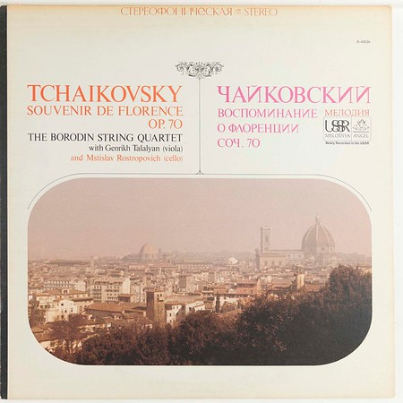 Angel-Melodiya SR-40036 Tchaikovsky Florence