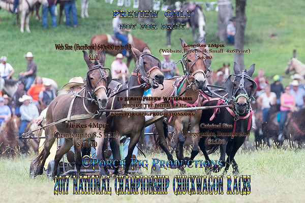 Thursday 2017 National Championship Chuckwagon Races