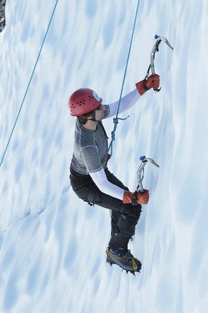 August 29 Exposure Ice Climb
