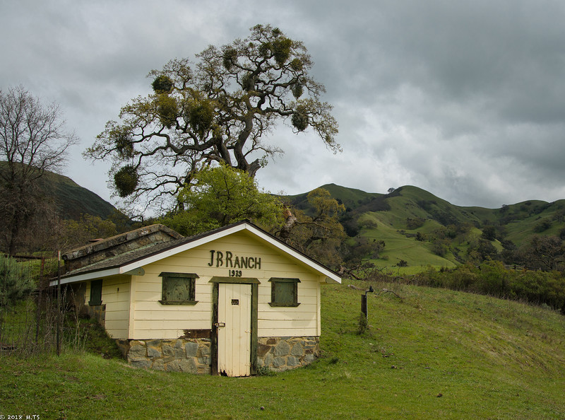 A Barn in Sunol-Ohlone WIlderness
