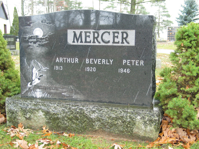 Arthur, Beverly and Peter Mercer