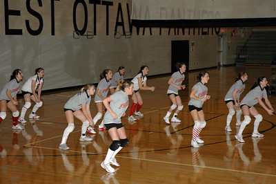 Girls Freshman Volleyball - 2006-2007 - 1/13/2007 West Ottawa Inv JG