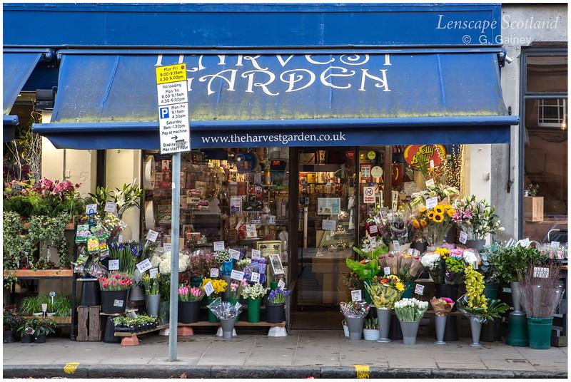 Harvest Garden florist and confectioner, Morningside Road