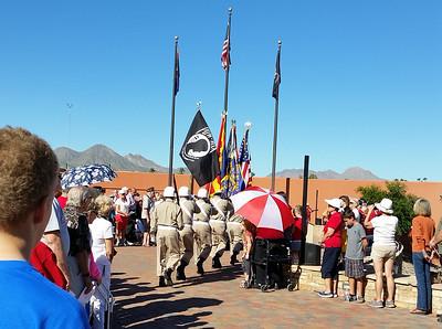 Veteran's Day 2014 w/ 4 Peaks Rotary