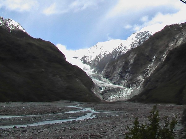 Franz Joseph Glacier (October 17, 2004)