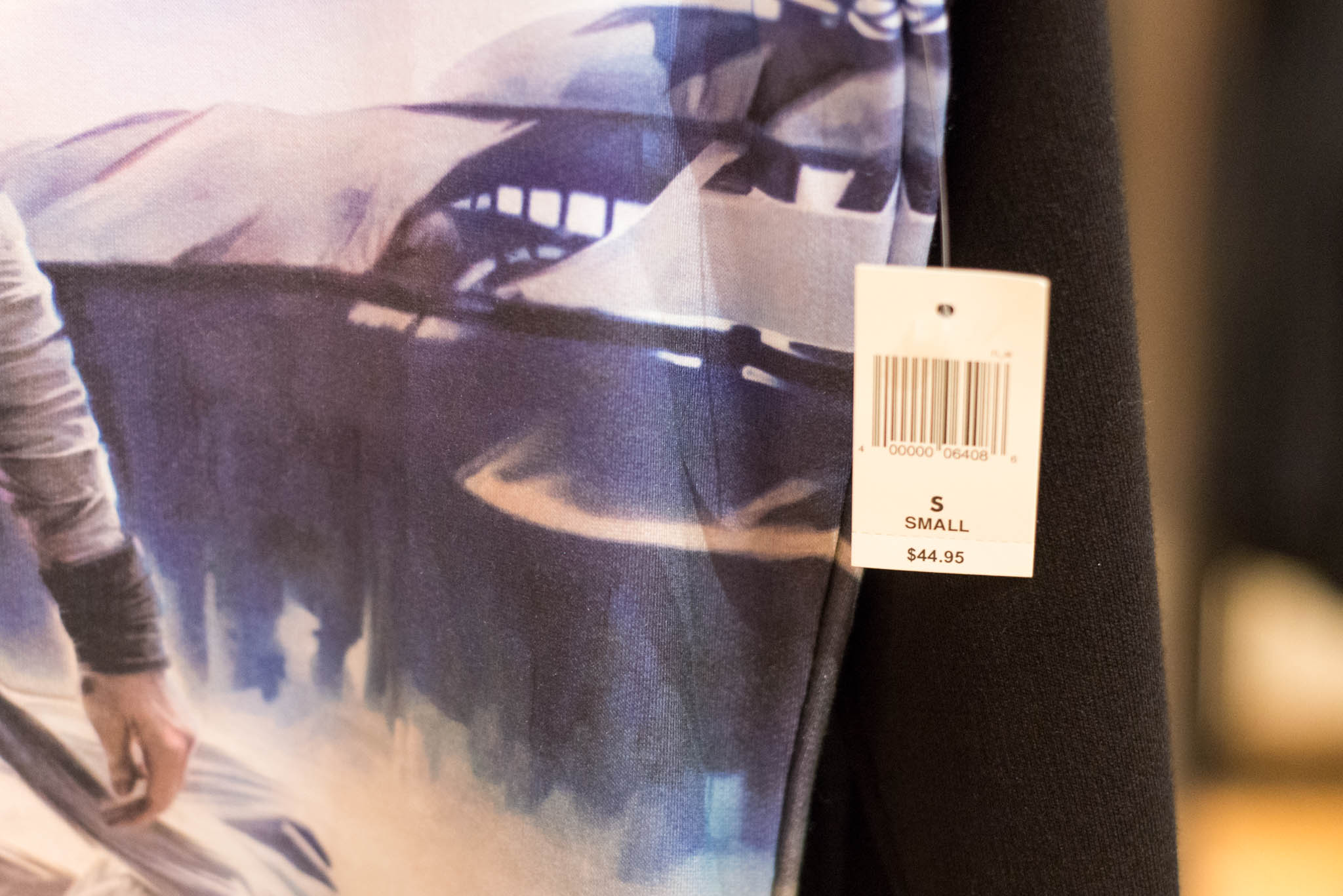 Star Wars Rey Shirt - Price Tag