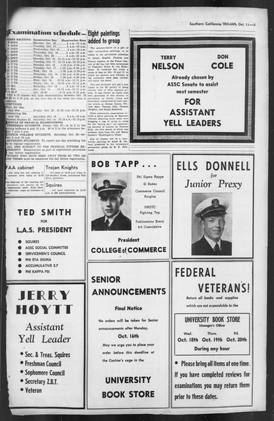 The Trojan, Vol. 35, No. 175, October 11, 1944