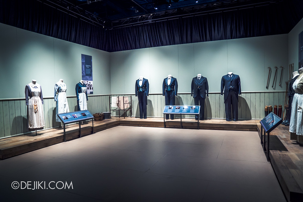 Downton Abbey The Exhibition - Servants' Uniforms