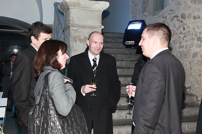 """SAP prednovoletno srečanje """"V dvoje je lepše, v poslu in v kuhinji"""", 1. december 2009, Mestni muzej Ljubljana"""