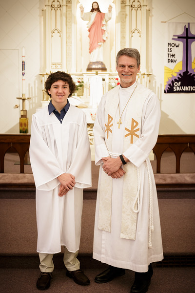 2016 St Pauls and St Johns Confirmation