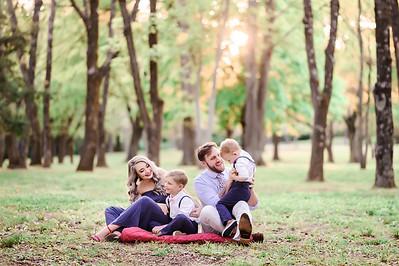 Megan, Cameron & kids
