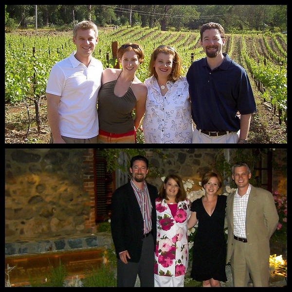 10 years ago today...we started the day with our first ever visit to Napa and capped it with the most amazing meal with even more amazing friends at the French Laundry. Where does the time go?!?
