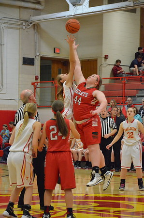 CHS Girls Hoops vs Effingham Jan 11, 2016