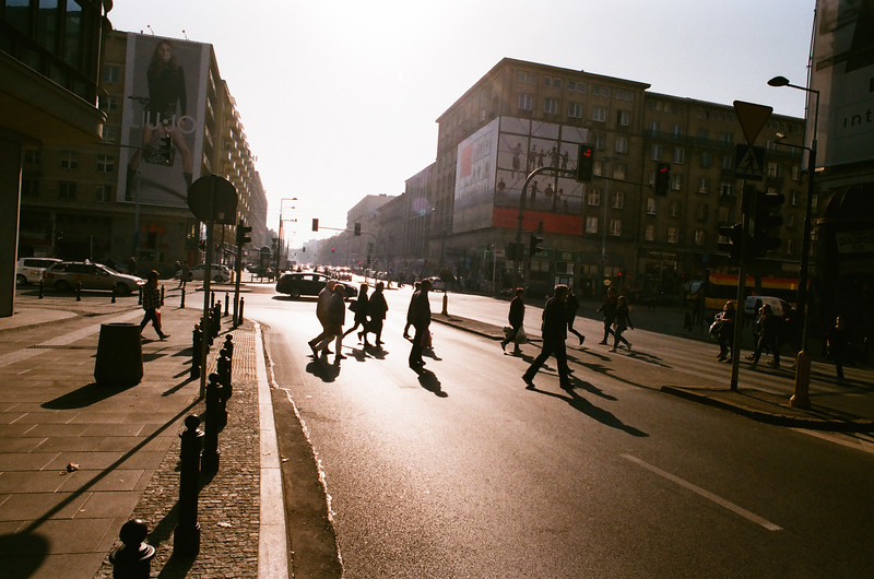 warsaw analogue nikon fm2 street autumn sunrise sun.jpg