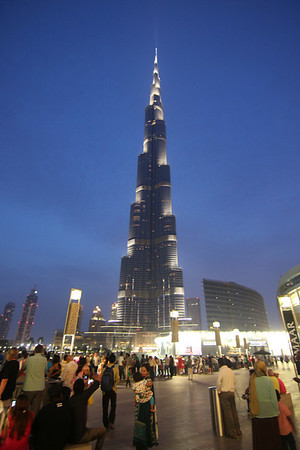 Burj Khalifa - Night Photos