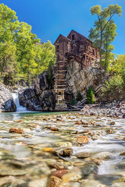 Crystal Mill from Below