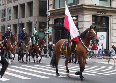 NY, New York - The Pulaski Parade Day, 2019