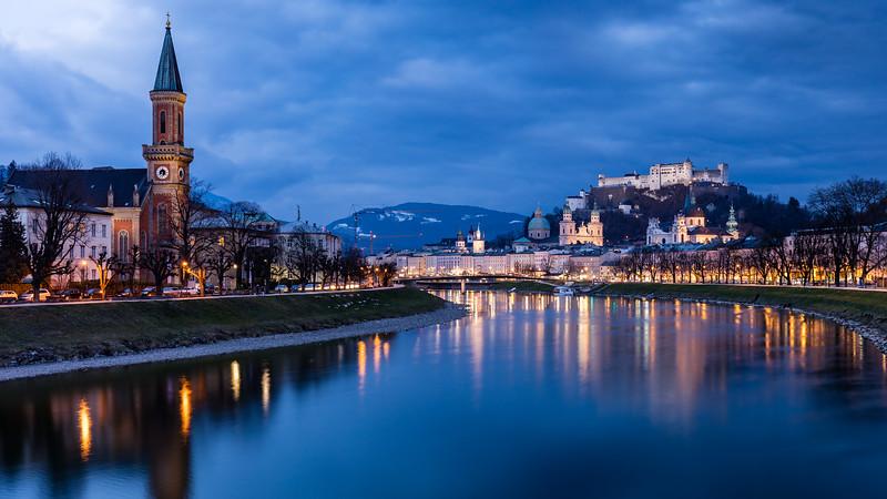 Across the Salzach River