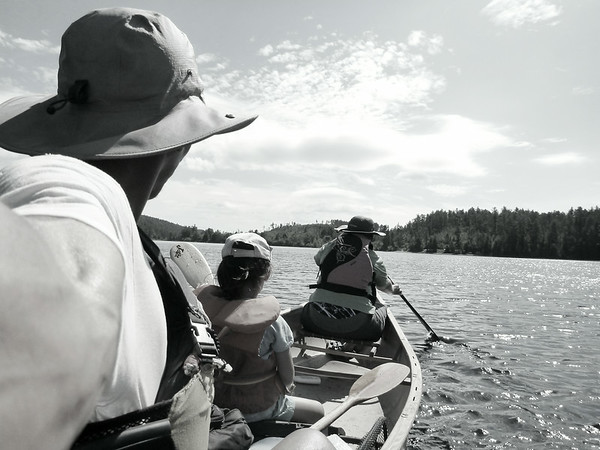 2014-Sept: 4d Canoe-trip in Algonquin Park (East end)