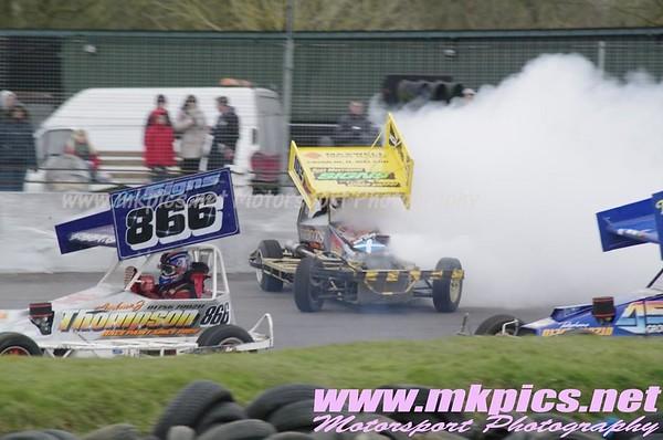 BriSCA F2 Stockcars, Northampton 29 March 2013
