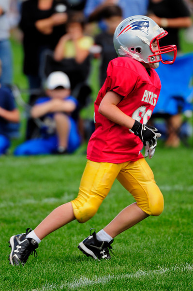 Mighty Mites Week 1 - Patriots v. Giants