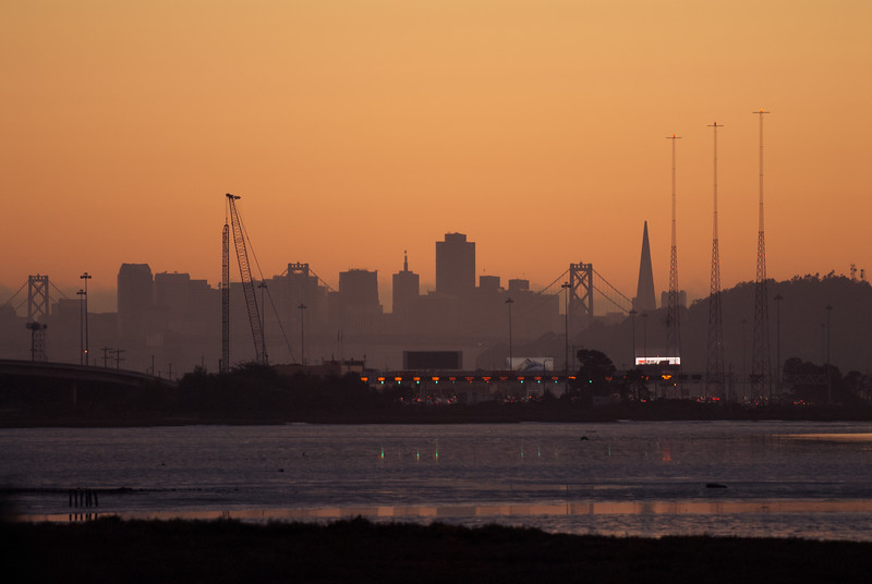 San Francisco over Mclaughlin Eastshore