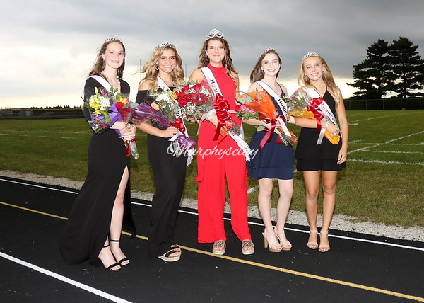 SNHS Homecoming Court 2019