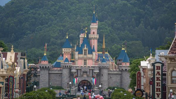 Disneyland Resort, Hong Kong Disneyland, Main Street USA, Sleeping Beauty Castle
