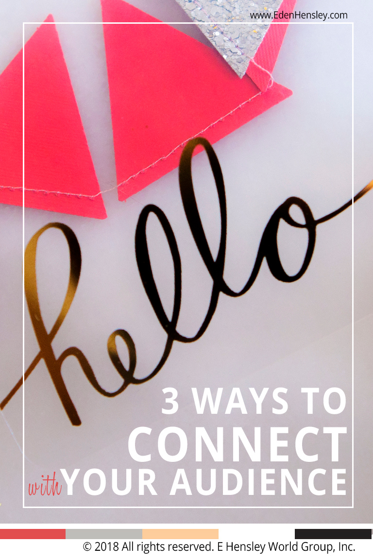 3 Ways to Connect with Your Audience Online plus 79 Creative FridayIntroductions Download