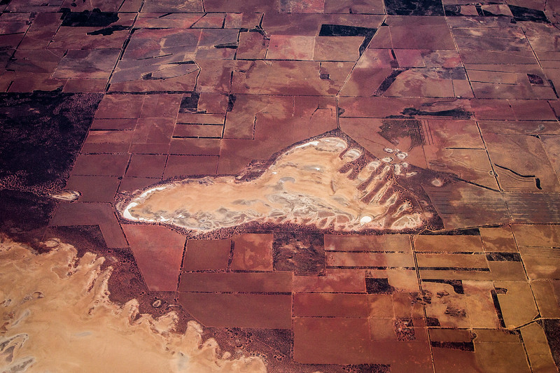 Footprint on the Earth. *Somewhere near Perth.