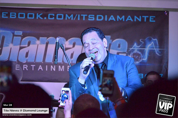 Tito Nieves @ DIAMOND Lounge | Fri, Mar 28