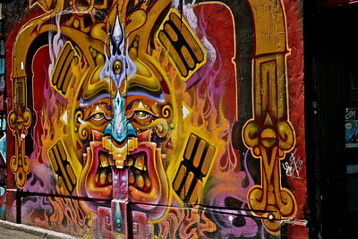 Clarion Alley, The Mission, San Francisco, July 31, 2012