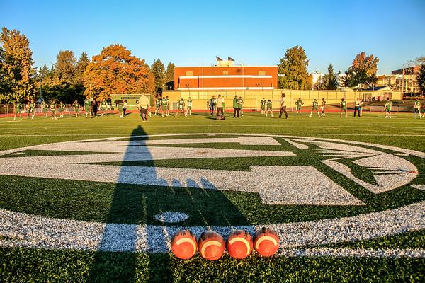 2018 Varsity Football Wilson vs Scappoose - Senior Night
