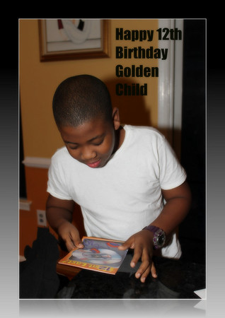 Jamari turns 12 thank you God