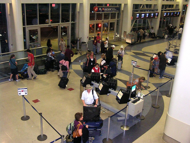 These folks are like me.....they are about ready to get on an all-night flight at LAX.